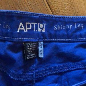Apt. 9 Pants - Apt. 9 Royal Blue Pant